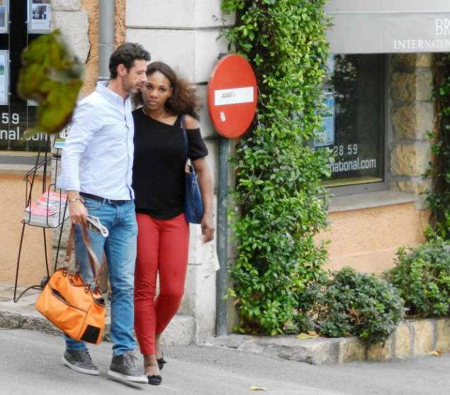Serena Williams with Boyfriend Patrick Mouratoglou